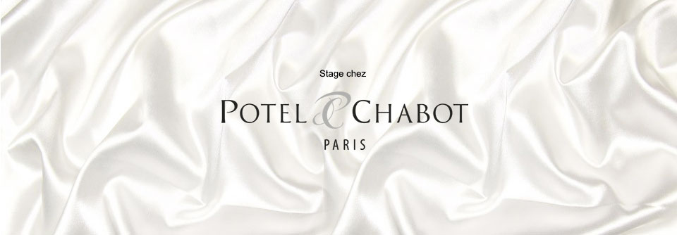 Mon stage wedding planner chez Potel et chabot